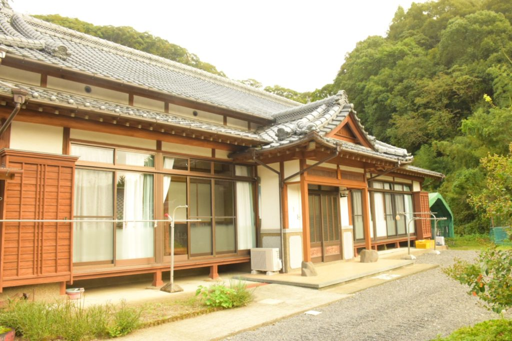 Akino-ie entrance